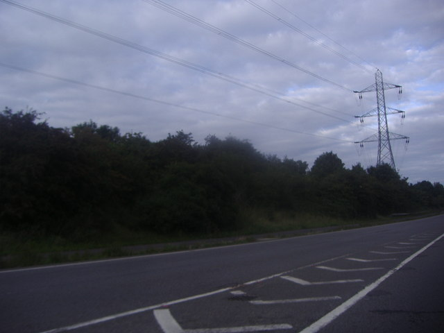 Pylon by the A3, Burpham