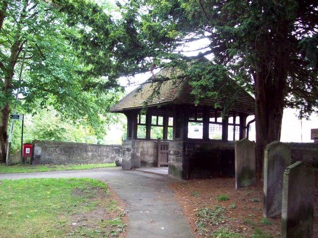 Lych Gate, St Bartholomew's Church, Maltby