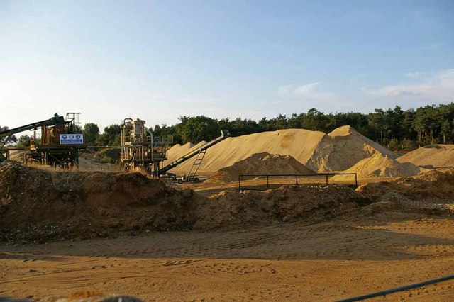 Sand Quarry in Ford Lane