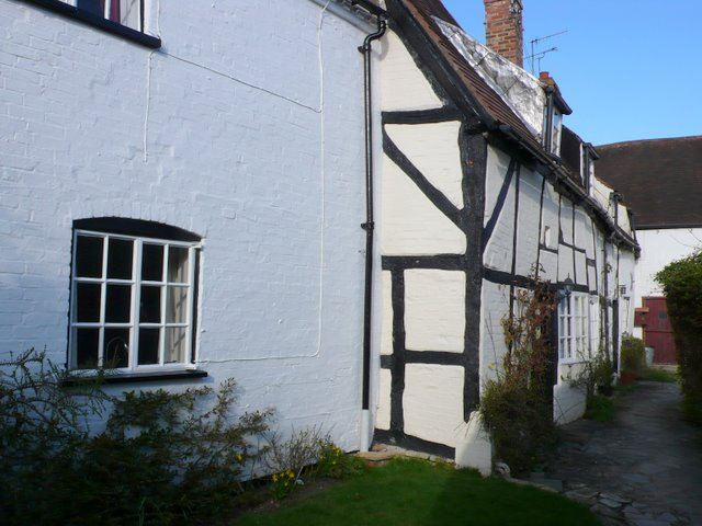 Old Cottages, Shottery