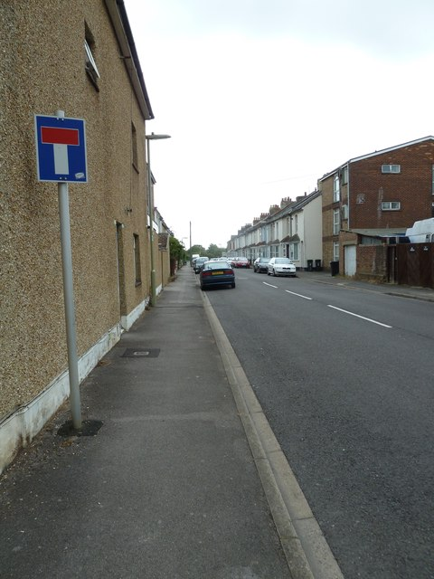Looking from Whitworth Road into Lavinia Road