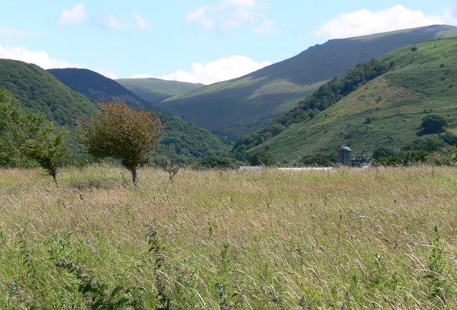 Afon Rhaeadr Fawr valley