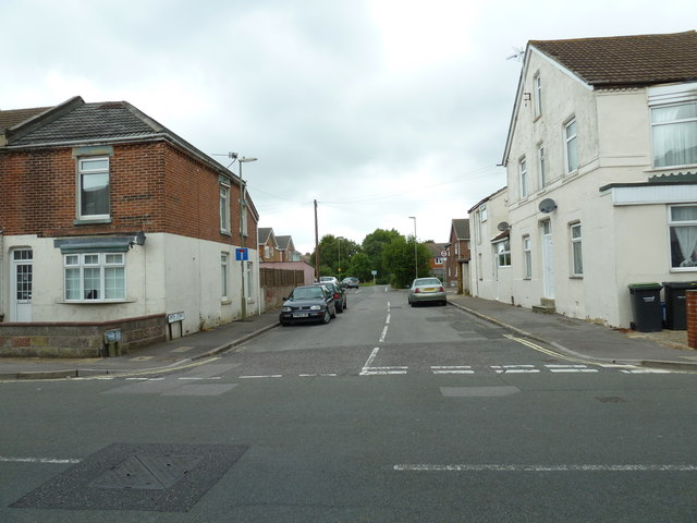 Looking from Whitworth Road into Smith Street