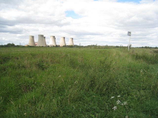 Km 71 and Cottam Power Station