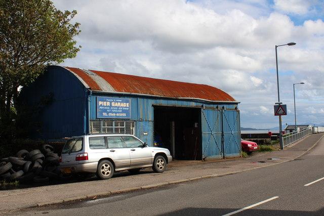 Pier Garage, Ardrishaig