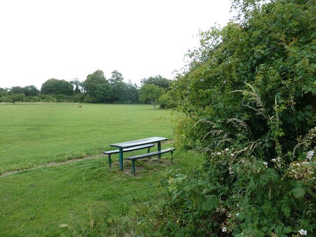 Seat in Leesland Park