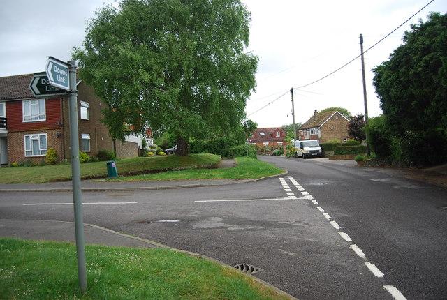 Kings Stone Avenue & King's Barn Lane Junction
