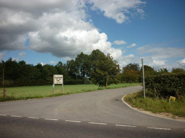 A bridleway to Toft Hill Grange