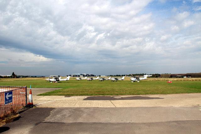 Runways, Rochester Airport, Kent