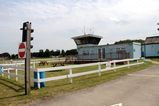 Control Tower, Rochester Airport, Kent