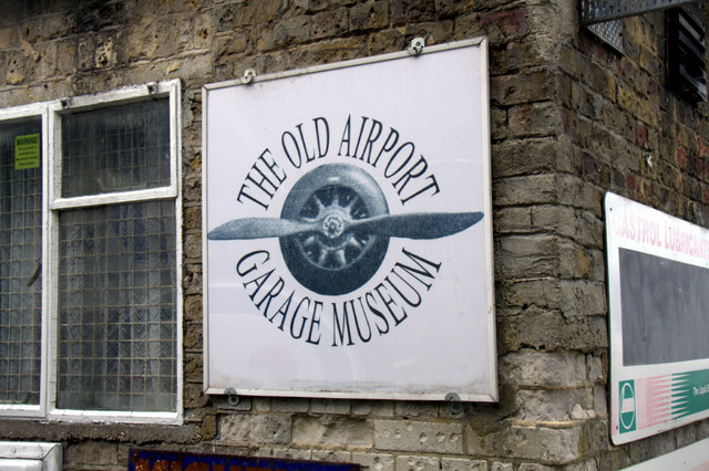 The Old Airport Garage Museum, Rochester Airport, Kent