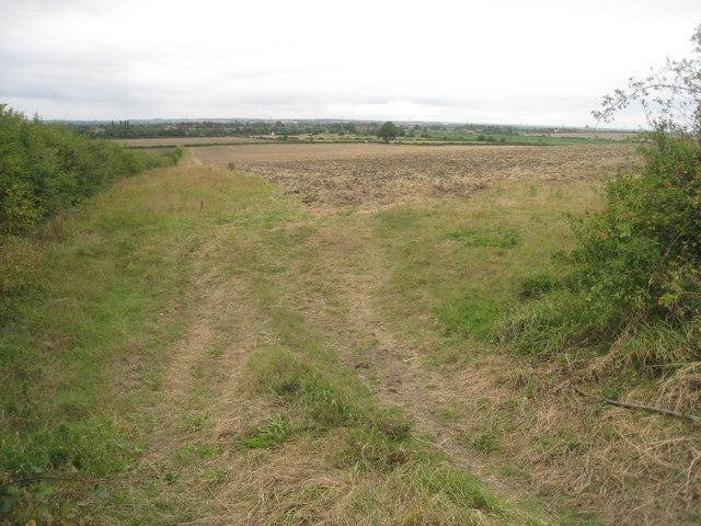 Footpath to Swinderby Road