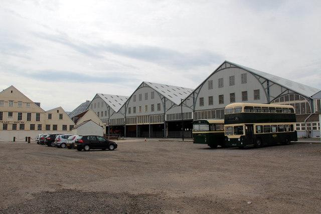 Car Park, Charham Historic Dockyard, Kent