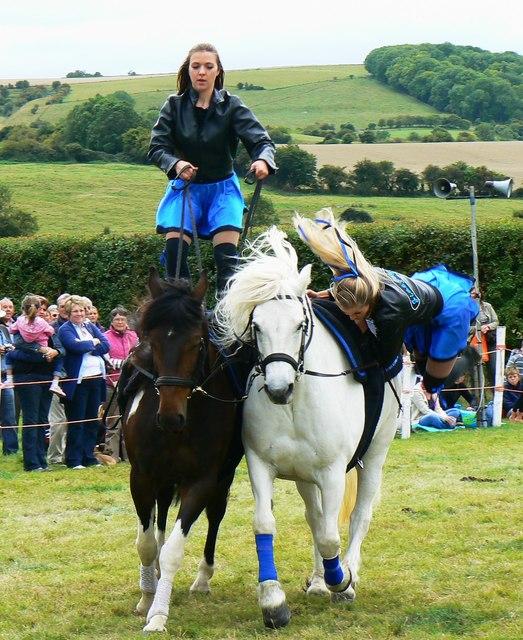 Jive-Pony at the White Horse Show, Uffington 2011 (1 of 4)