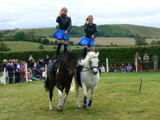 Jive-Pony at the White Horse Show, Uffington 2011 (2 of 4)