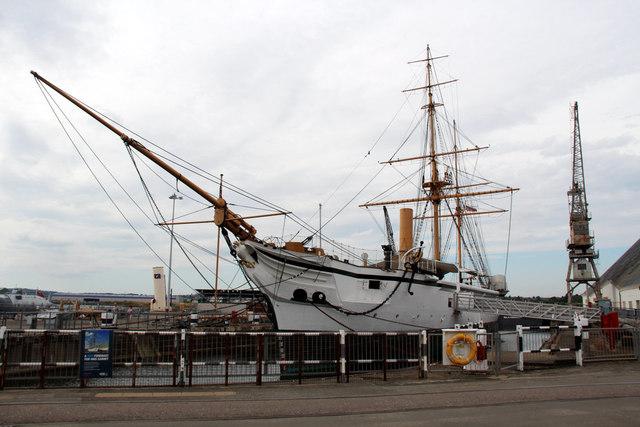 HMS Gannet, Chathan Historic Dockyard, Kent