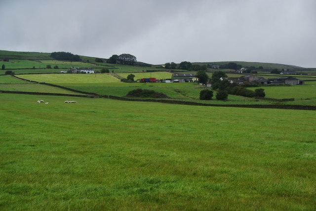 Fields below Shaw Gate