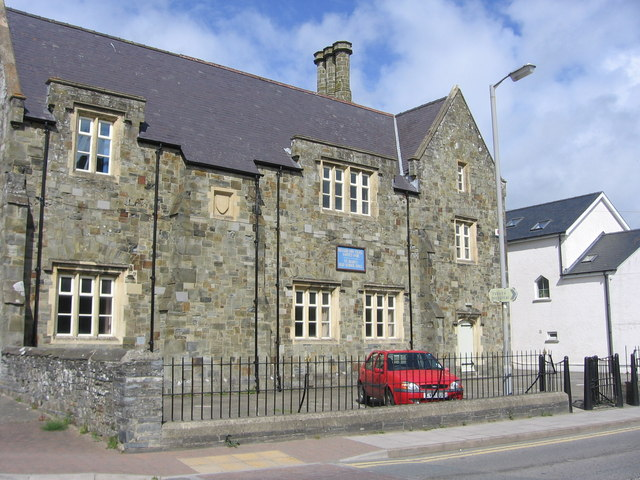 St. Mary's old school hall, Cardigan