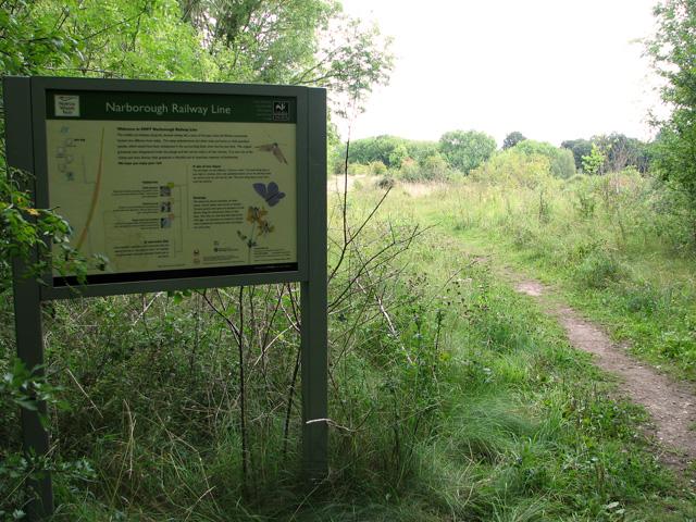 Narborough Railway Line walk