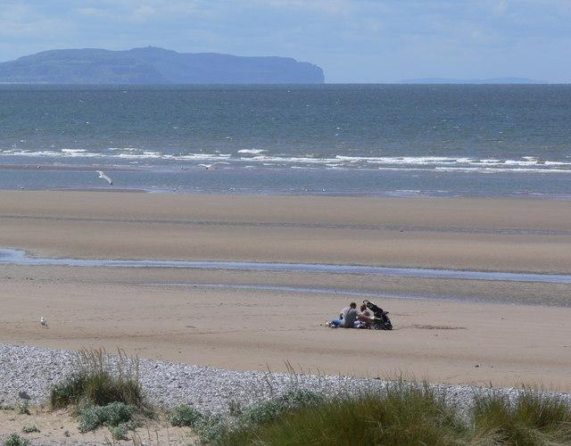 The sands at Kinmel Bay