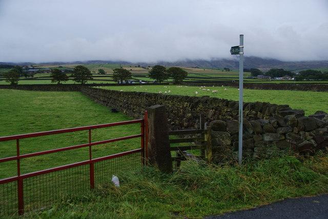 Footpath towards Wycoller