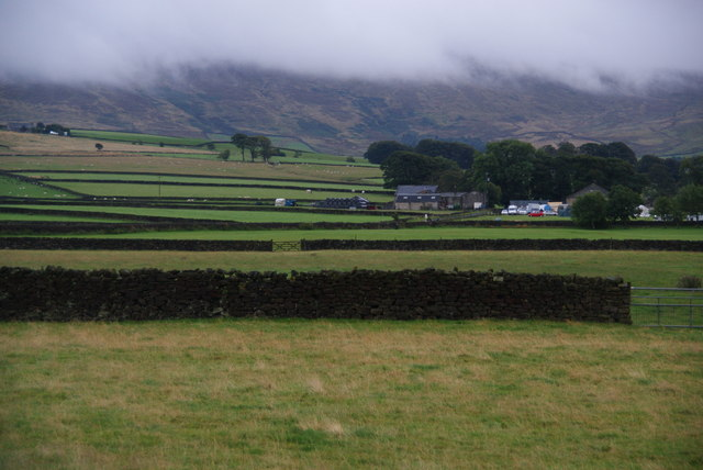Fields towards Stunstead Farm