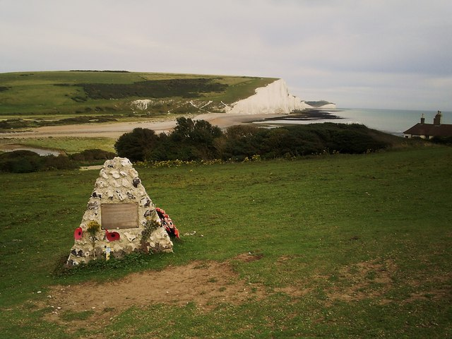 Canadian War Memorial , Cuckmere  Haven