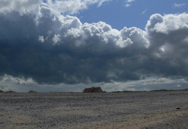 Clouds over Kinmel Bay