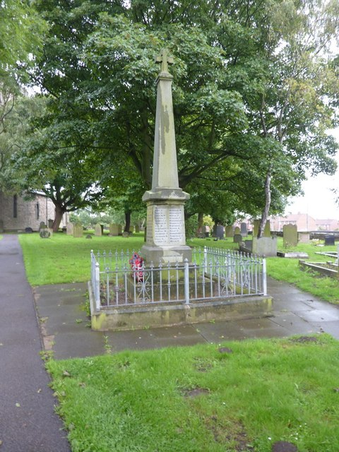 Kirk Merrington Parish Church, St John the Evangelist, War Memorial