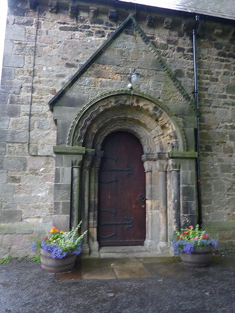 Kirk Merrington Parish Church, St John the Evangelist, Doorway