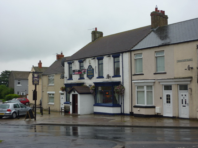 The Half Moon, Crowther Place, Kirk Merrington