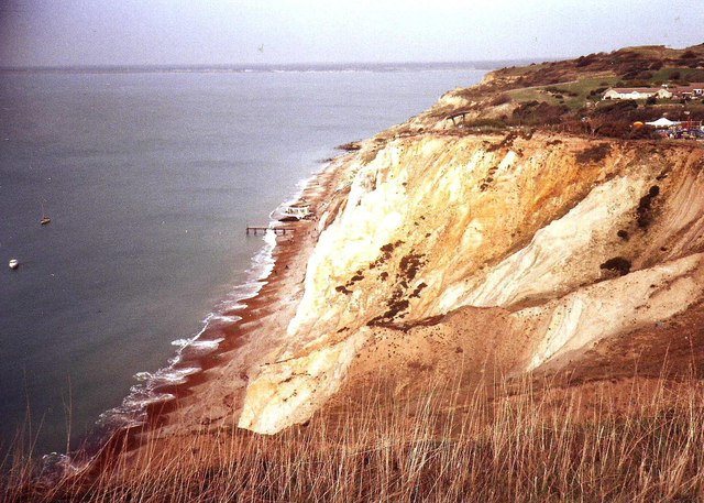 Cliffs at Alum Bay, Isle of Wight