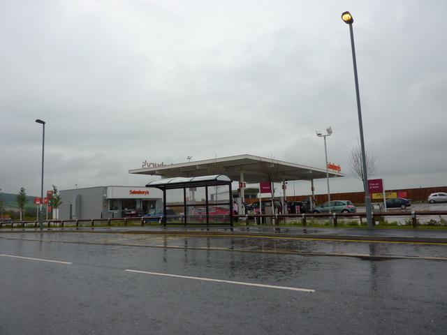 Sainsburys Filling Station, St Helens Auckland