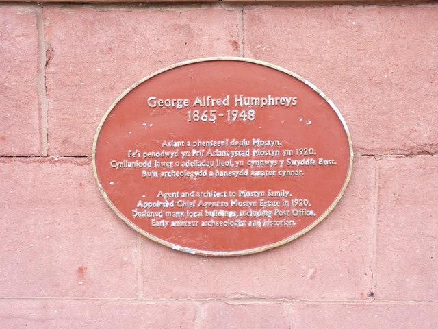 George Alfred Humphreys 1865 - 1948, Llandudno