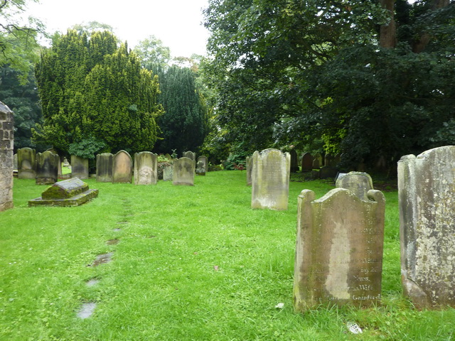 St Mary's Parish Church, Gainford, Graveyard