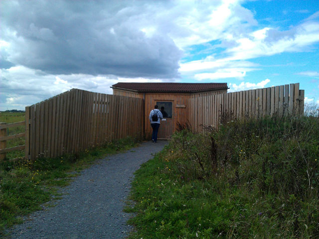 The entrance to the East Hide