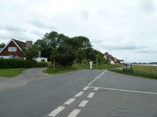 Looking from The Drive into Shore Road