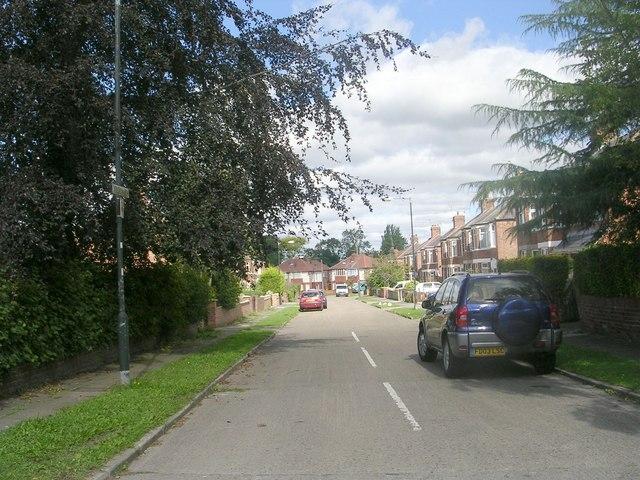 Milson Grove - Hull Road