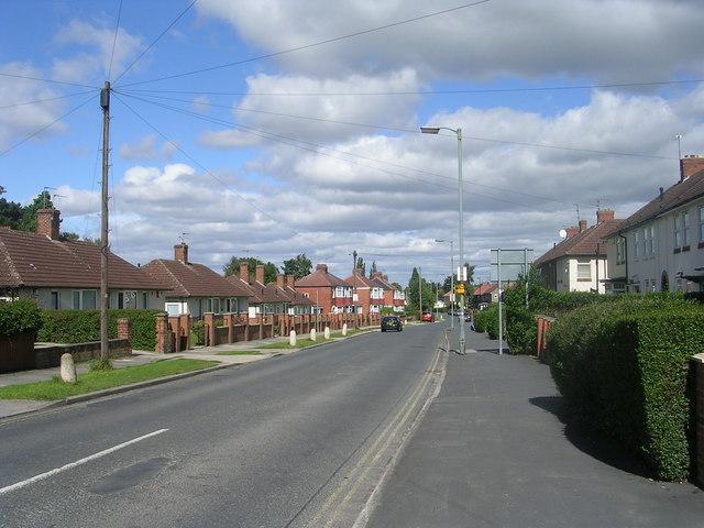 Tang Hall Lane - Hull Road