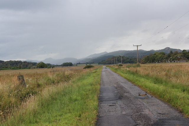The road from Crinan Ferry