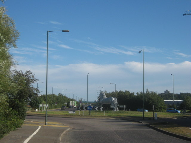 Roundabout on A2016