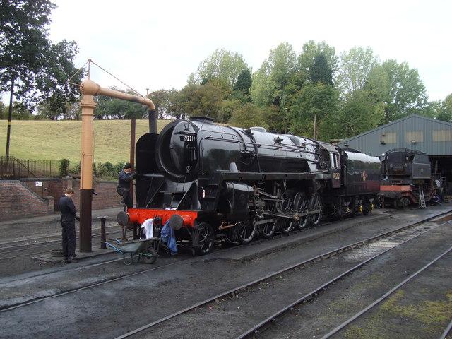 Class 9F at Bridgnorth