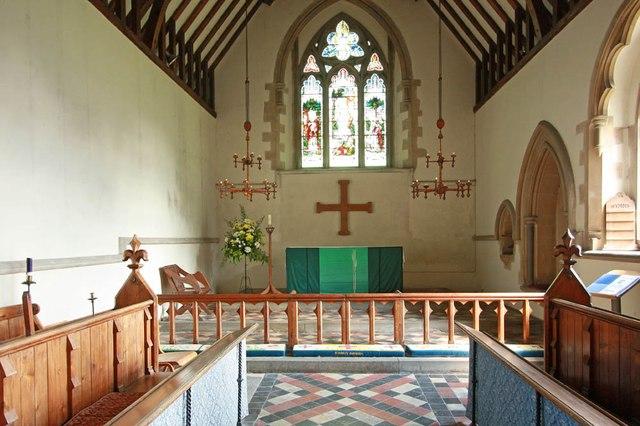 St Mary, Manuden - Chancel