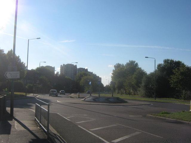 Roundabout on Yanton Way (2)