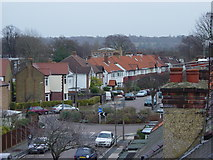 TQ1572 : Cross Deep Gardens - A rooftop view by Rob Gill
