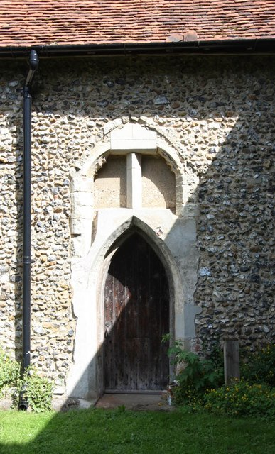 St Mary, Manuden - Doorway