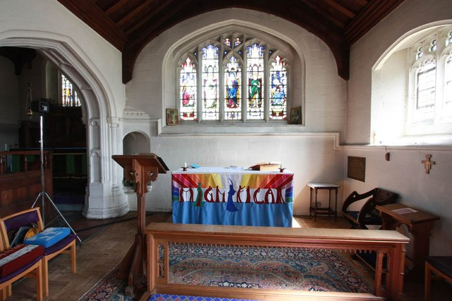 St John, Stansted Mountfitchet - South chapel