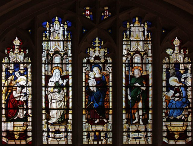 St John, Stansted Mountfitchet - Stained glass window