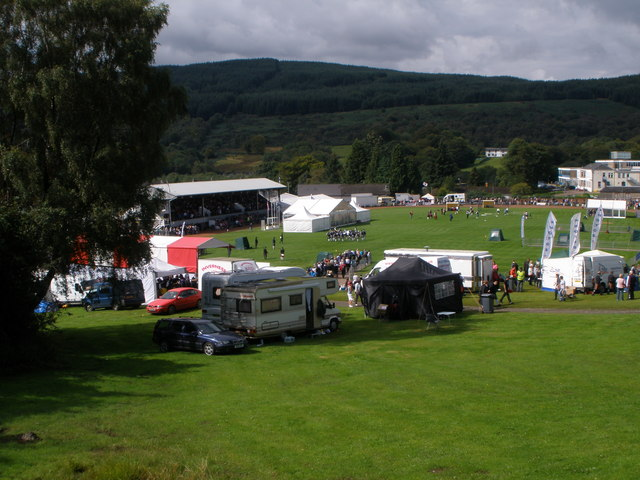 Dunoon Stadium on Cowal Games Saturday