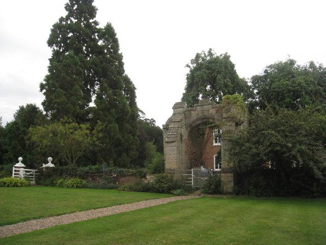 Gateway at Kettlethorpe Hall